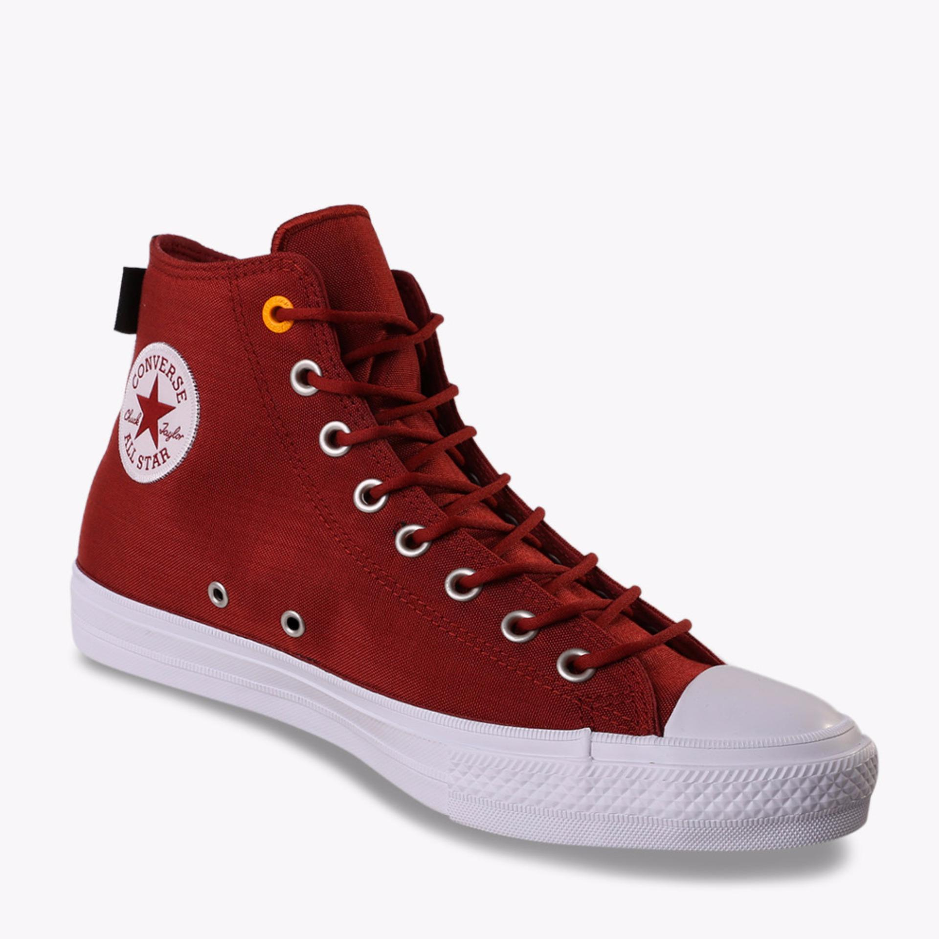 Harga Converse All Star Chuck Taylor Ii Cordura High Men S Sneakers Shoes Merah Online Indonesia