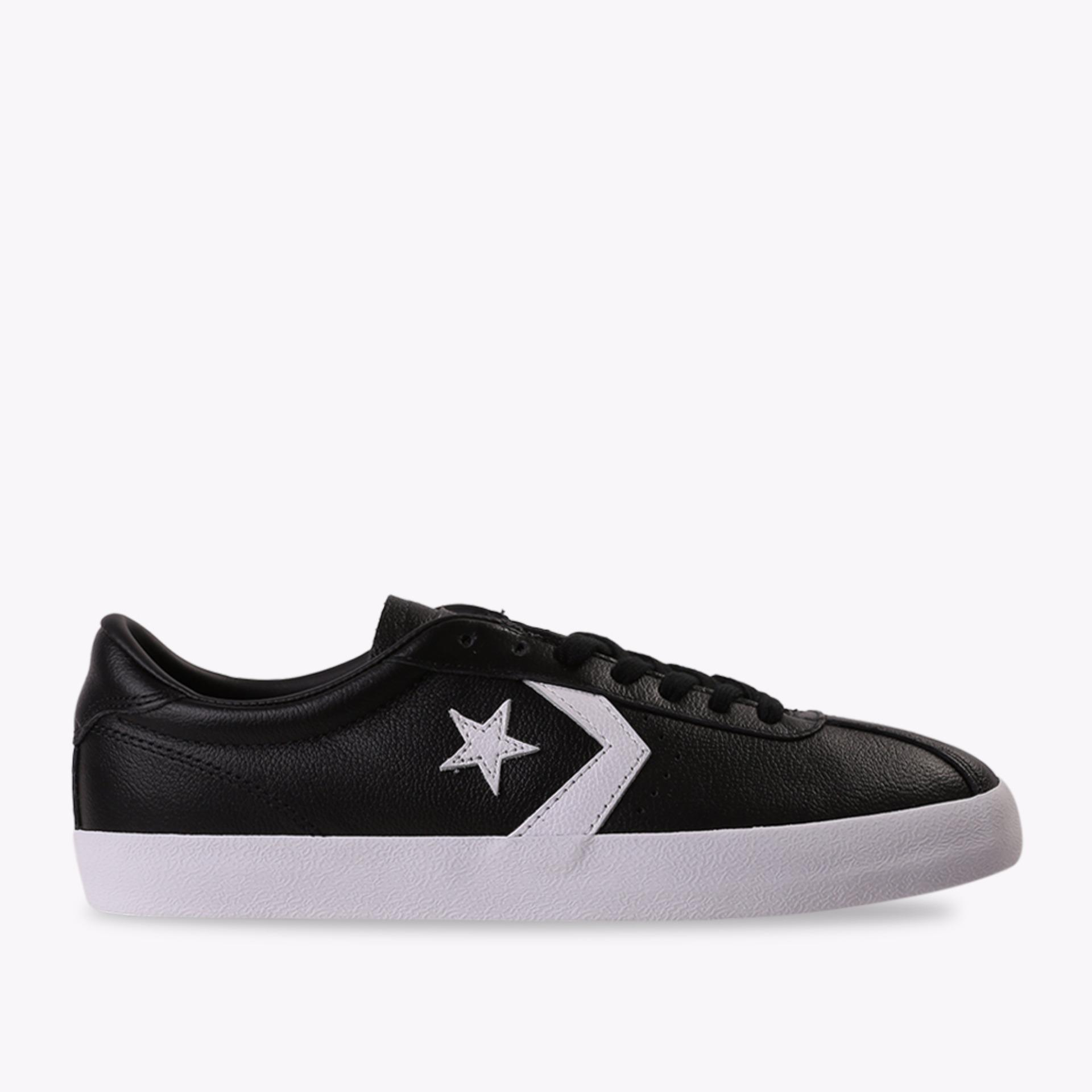 Beli Converse Breakpoint Leather Ox Men S Sneakers Shoes Hitam Converse Online