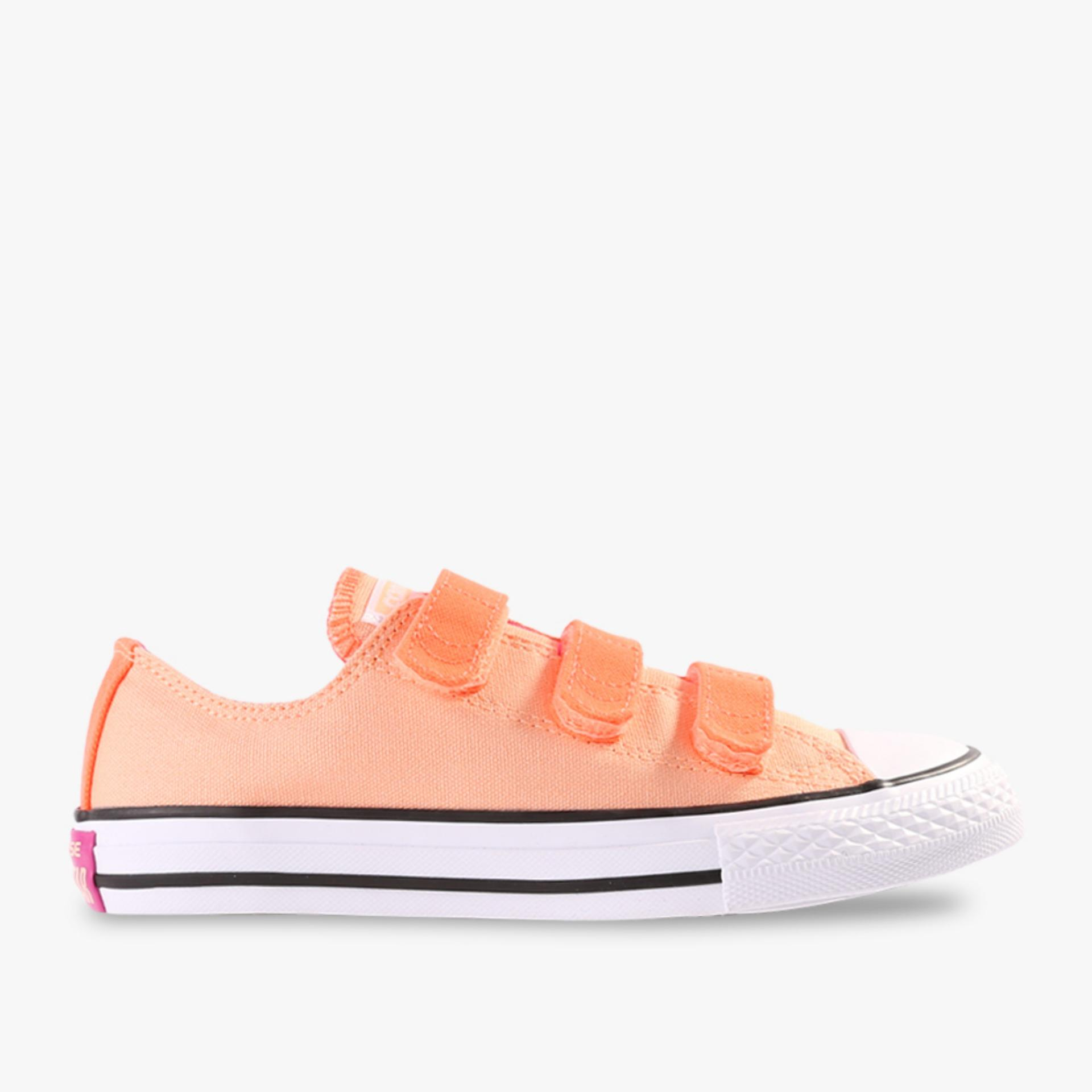 Beli Converse Chuck Taylor All Star 3V Ox Kids Sneakers Oranye Kredit