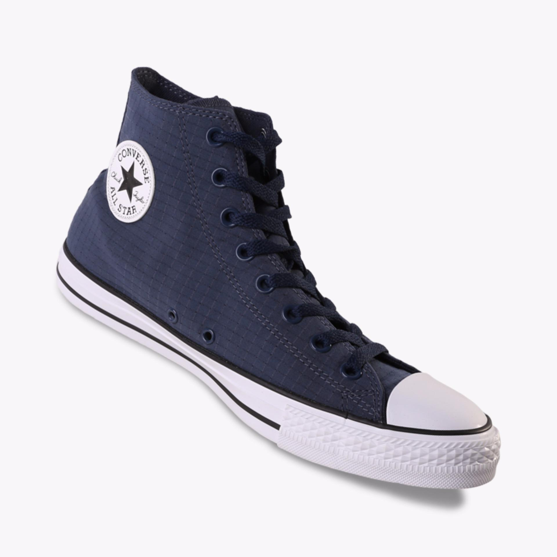 Toko Converse Chuck Taylor All Star Hi Men S Sneakers Navy Terlengkap Indonesia