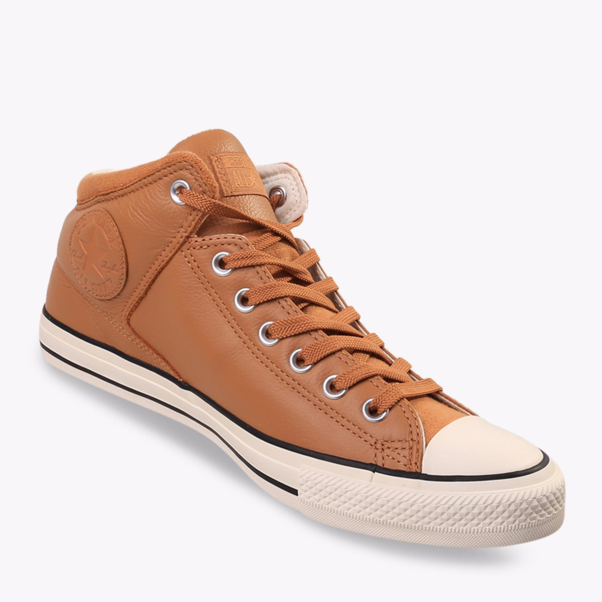Beli Converse Chuck Taylor All Star High Stret Men S Sneakers Shoes Cokelat Terbaru