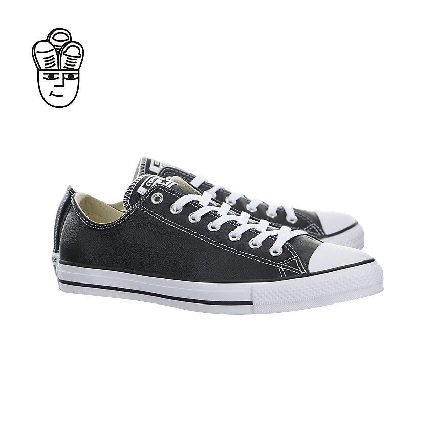 Converse Chuck Taylor All Star Leather Gaya Hidup Rendah Sepatu Pria 132174C-SH