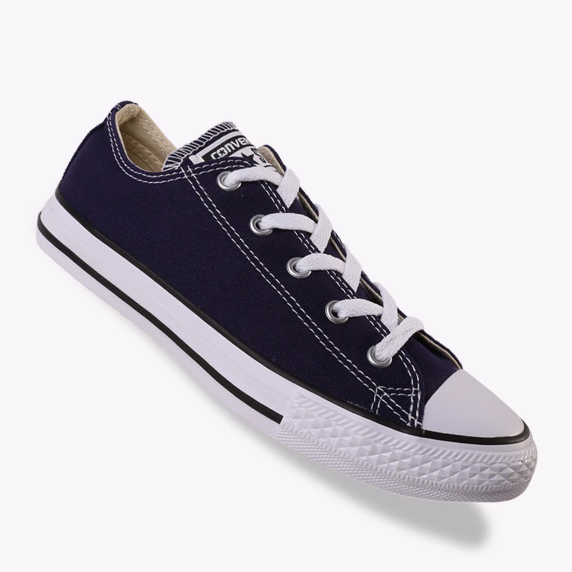 Jual Converse Chuck Taylor All Star Ox Boy S Sneakers Shoes Navy Converse Asli