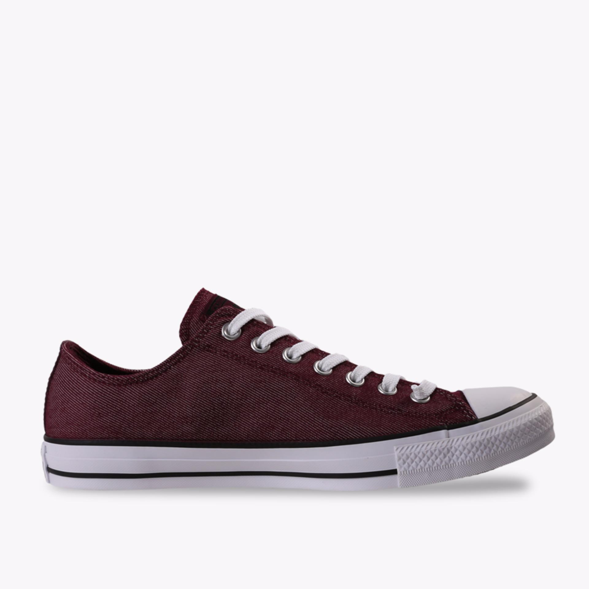 Converse Chuck Taylor All Star Ox Men's Sneakers Shoes - Merah
