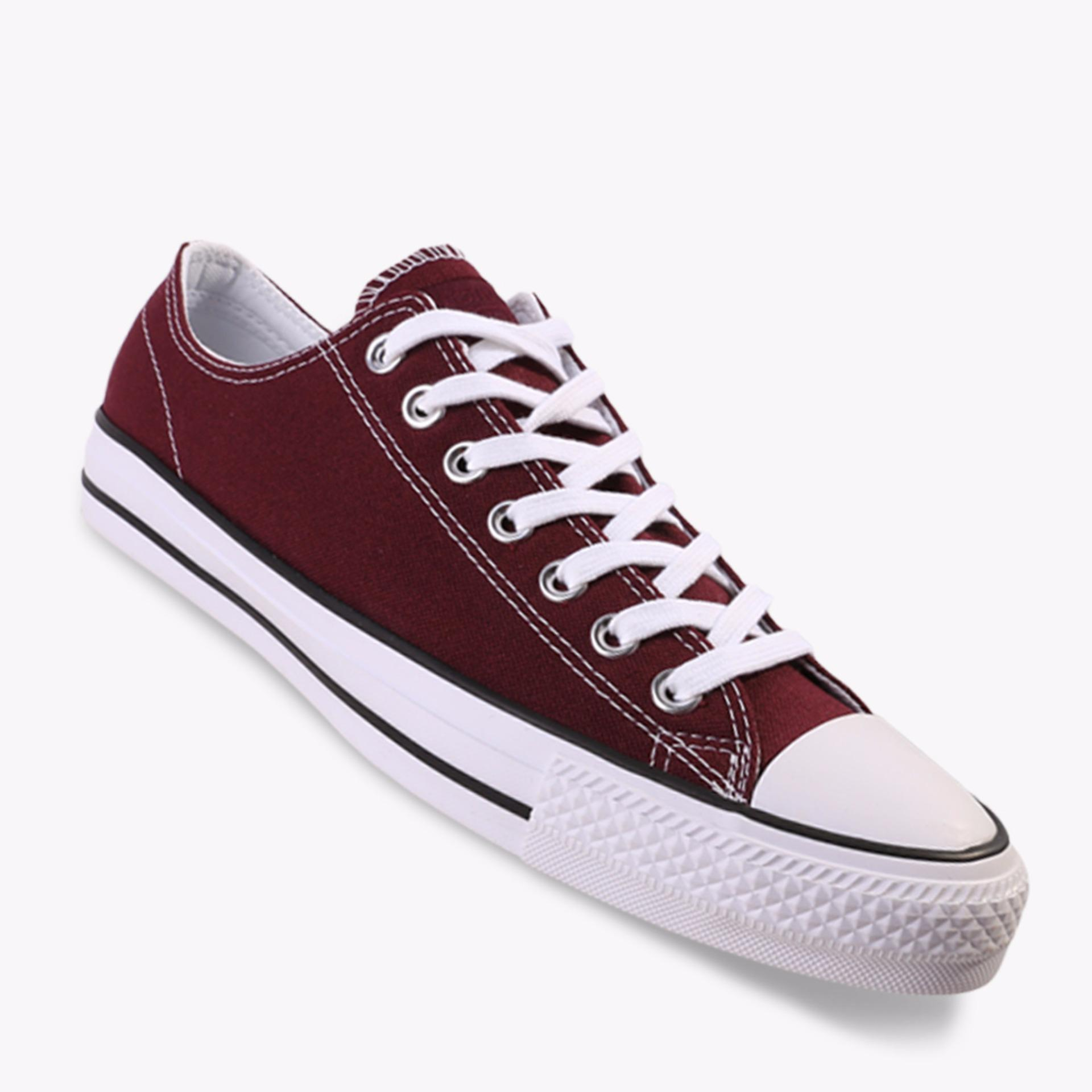 Ulasan Tentang Converse Chuck Taylor All Star Pro Ox Men S Sneakers Shoes Maroon