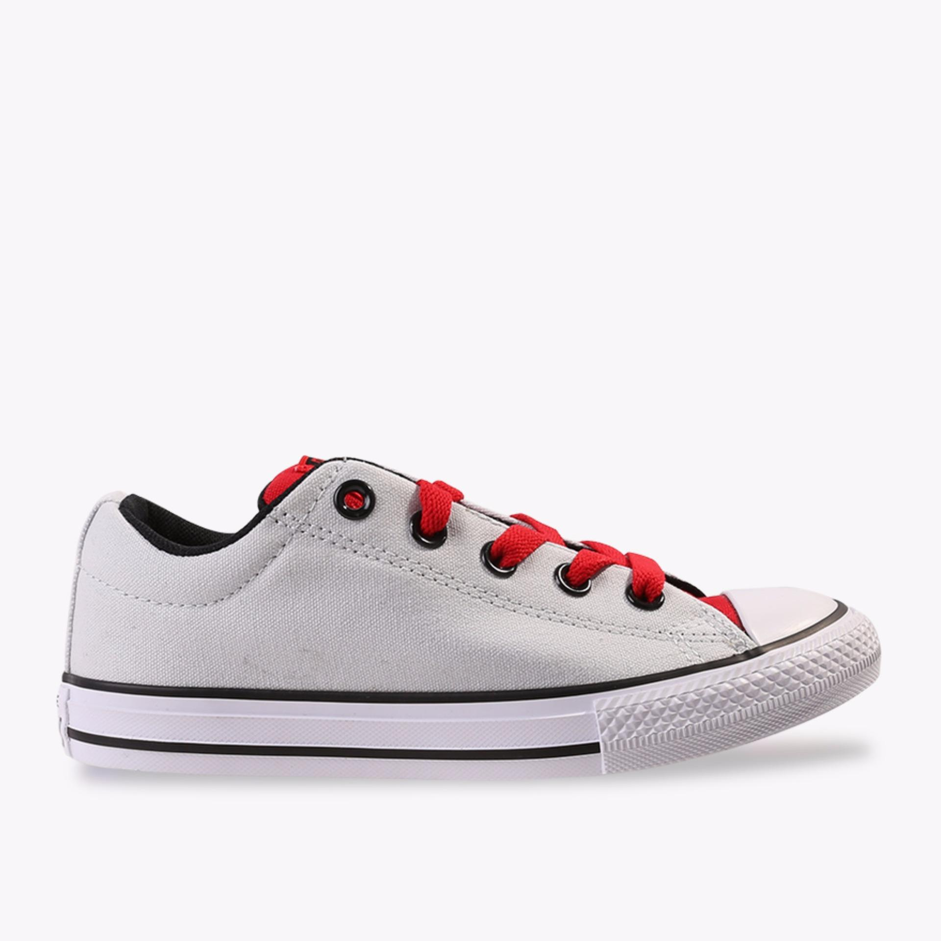 Converse Chuck Taylor All Star Street Slip Girl's Sneakers Shoes - Putih
