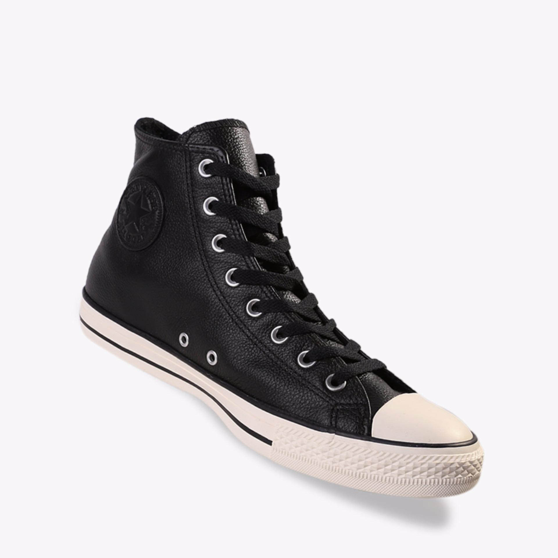 Harga Converse Chuck Taylor All Star Tumbled Leather Men S Sneakers Shoes Hitam Online Indonesia