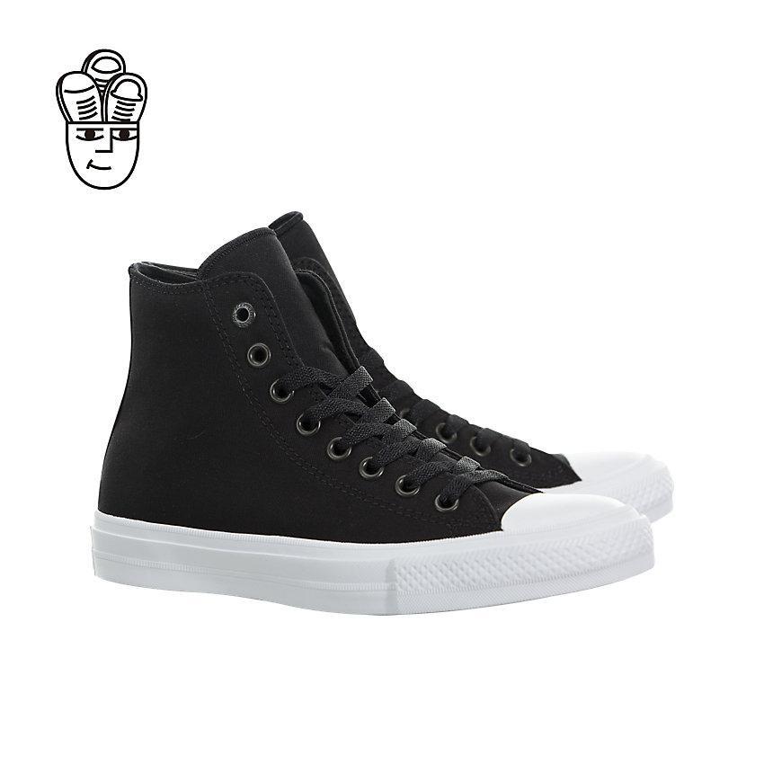 Converse Chuck Taylor II Tinggi Gaya Hidup Sepatu Big Kids 250143c-SH