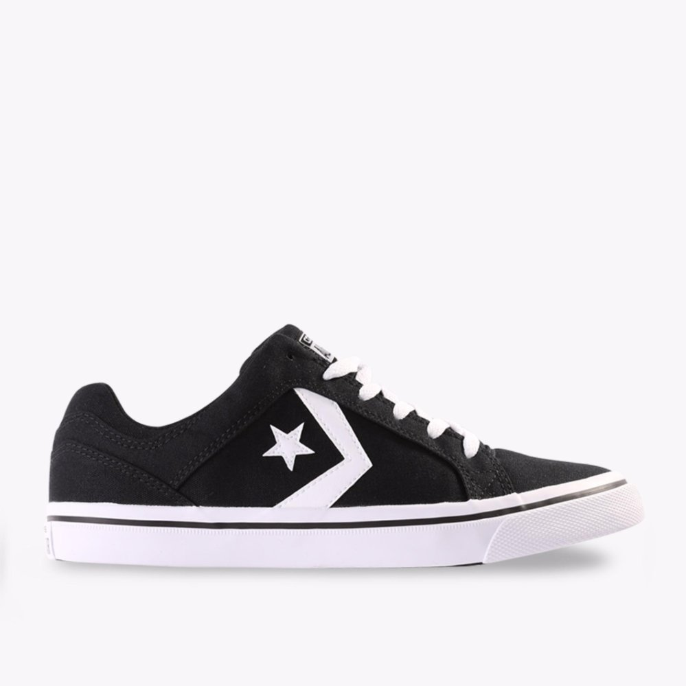 Review Tentang Converse Cons El Distrito Ox Men S Sneakers Hitam