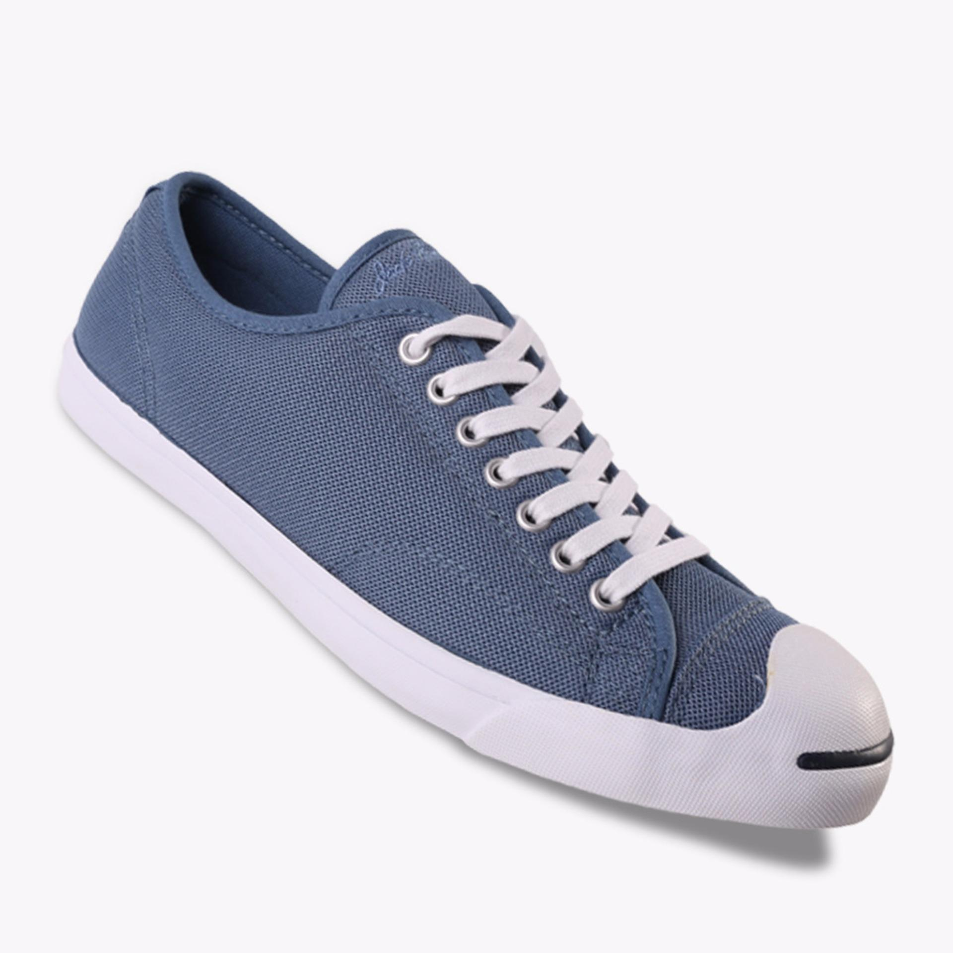 Review Converse Jack Purcell Lp Ox Men S Sneakers Shoes Biru Indonesia
