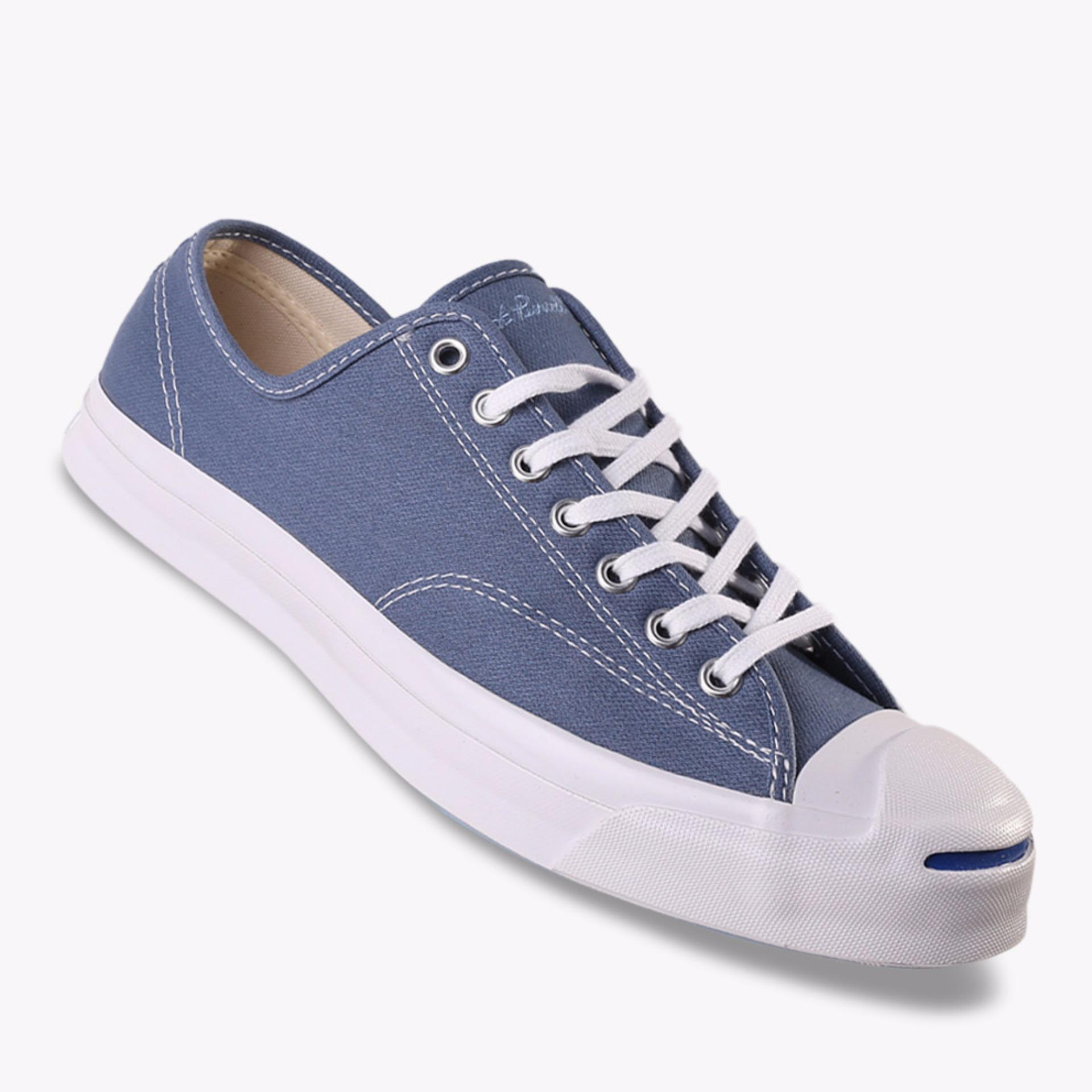 Jual Beli Converse Jack Purcell Signature Ox Men S Sneakers Shoes Biru Baru Indonesia
