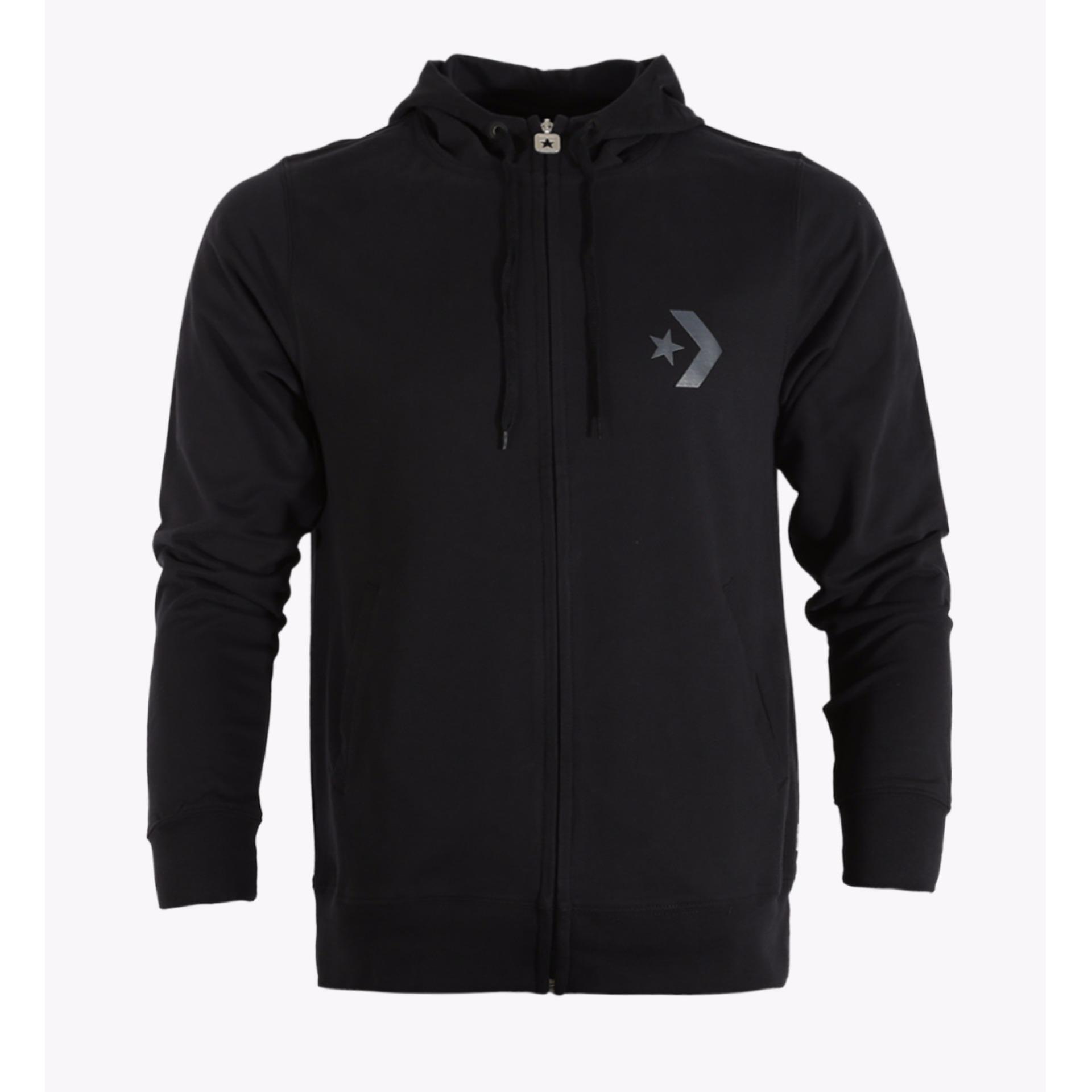 Promo Converse Men S Jacket Hitam