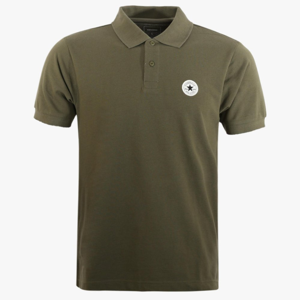 Jual Converse Men S Polo Shirt Hijau Ori