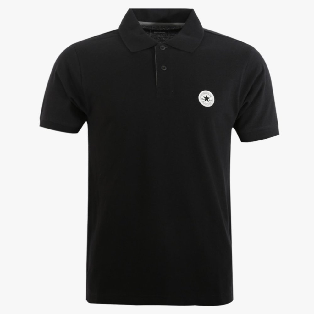 Converse Men S Polo Shirt Hitam Original