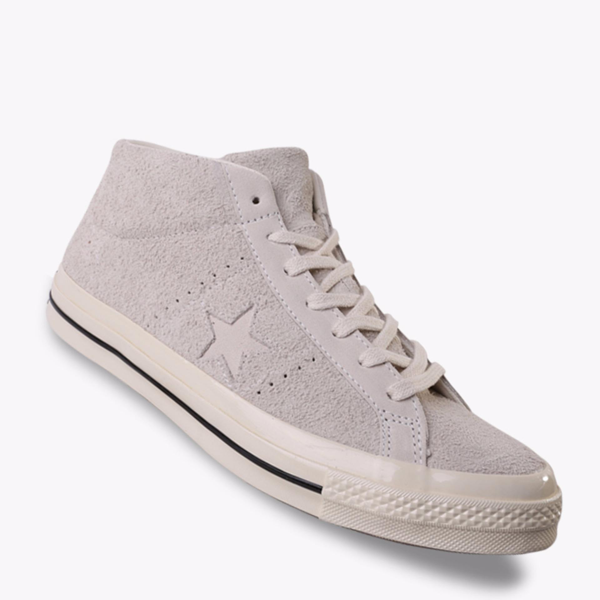 Toko Converse One Star Mid Suede Men S Sneakers Shoes Putih Converse Online