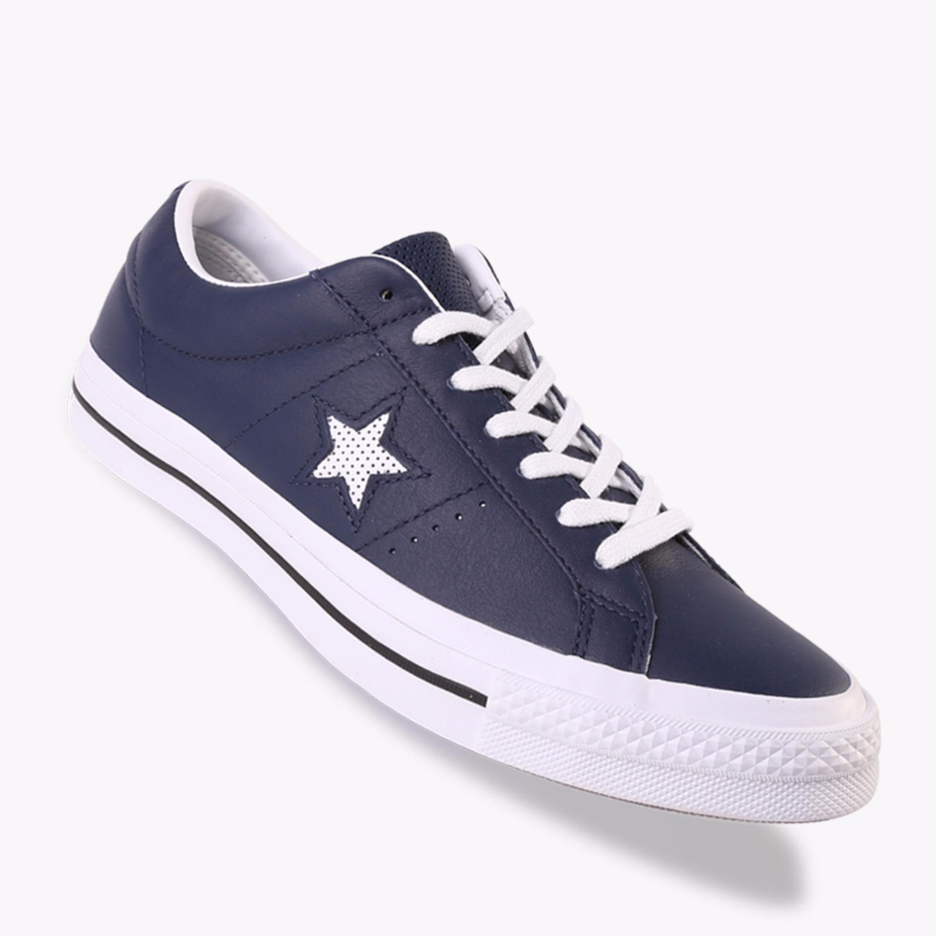 Jual Beli Converse One Star Ox Men S Sneakers Shoes Navy Di Indonesia