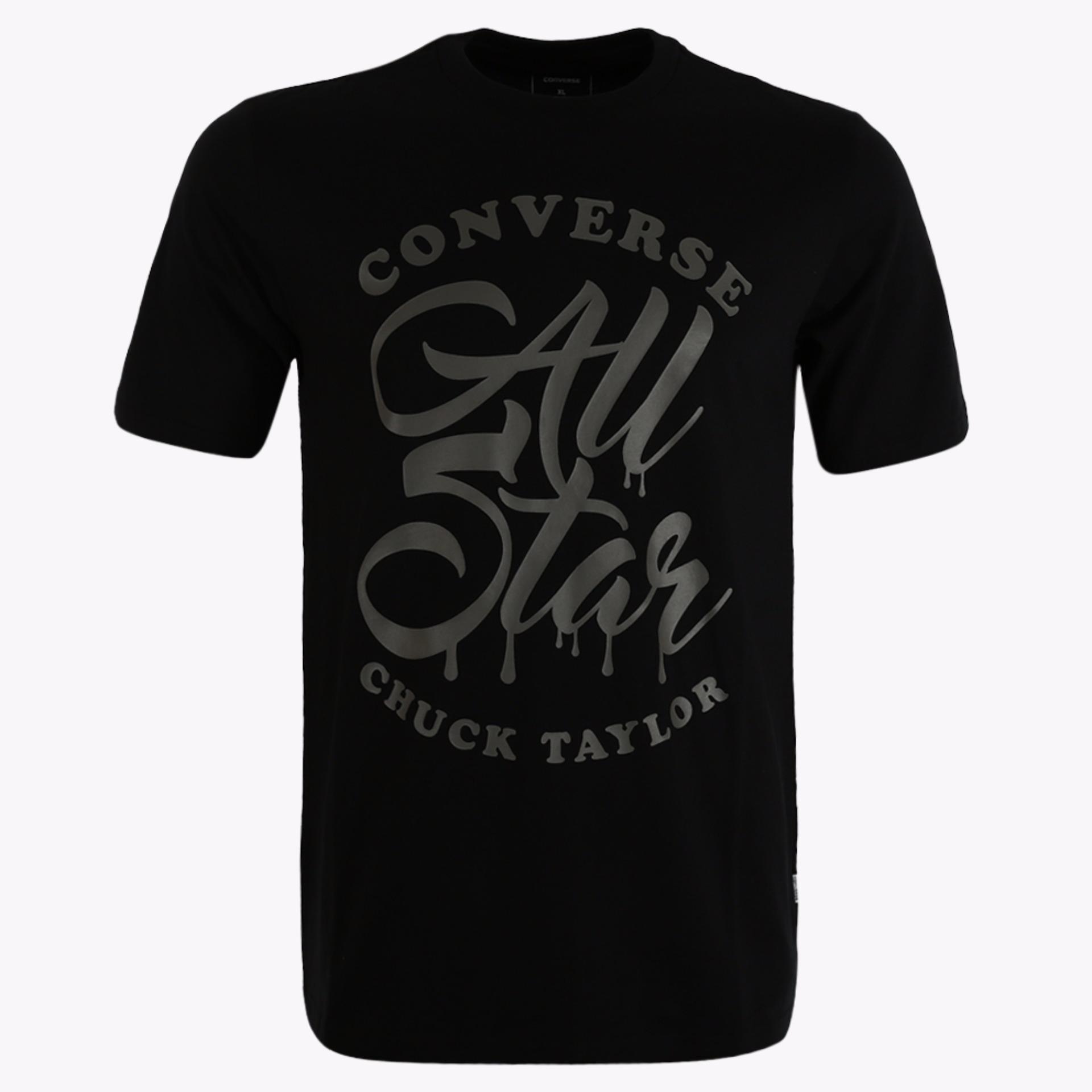 Jual Converse Seasonal Illustratration Graph Men S T Shirts Hitam Converse Murah