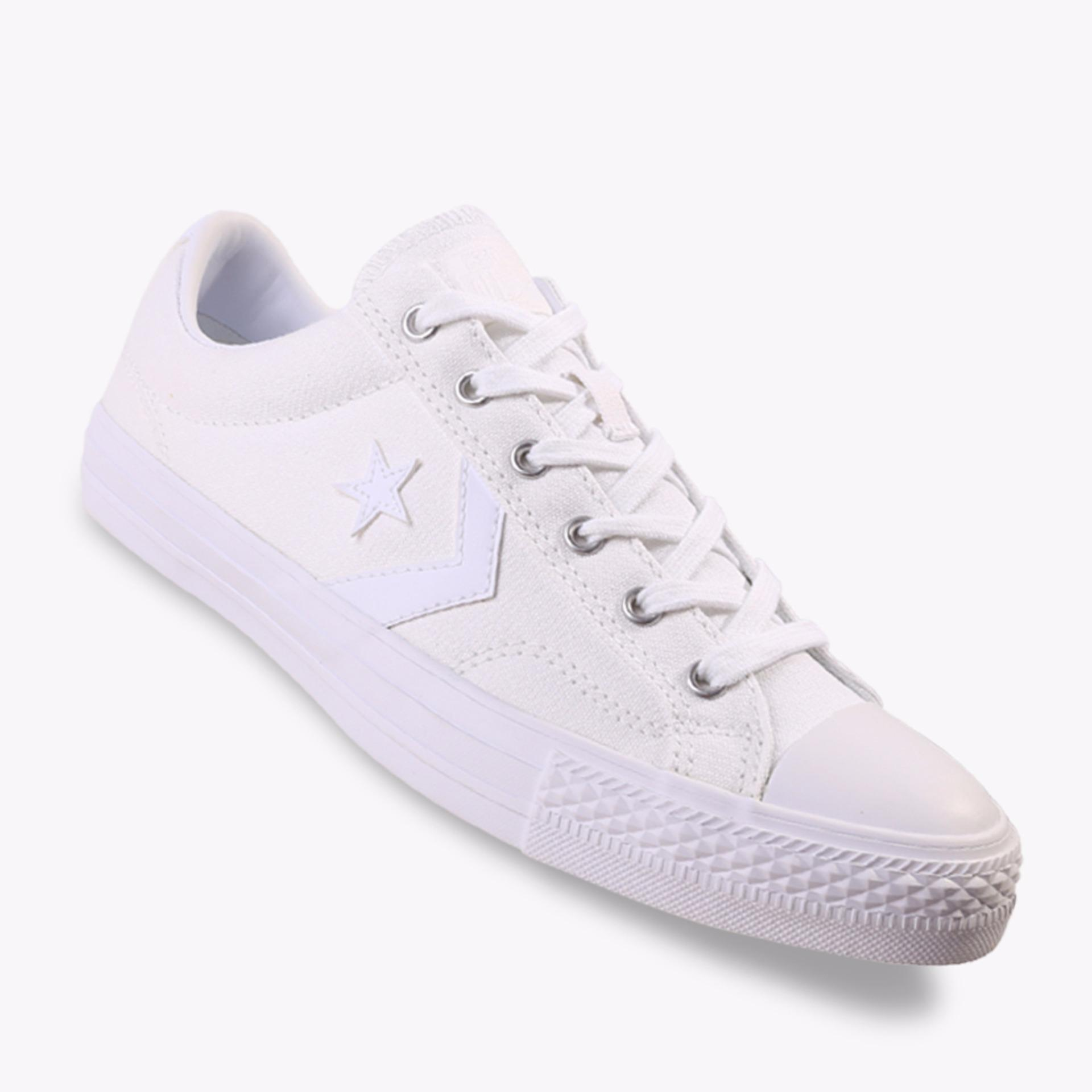 Jual Converse Star Player Ox Men S Sneakers Shoes Putih Converse Di Indonesia