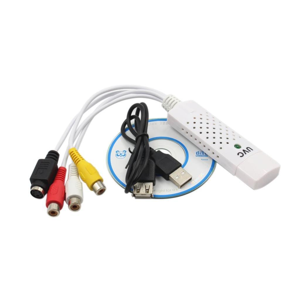 Converter Easycap Audio Video Adapter USB VHS to DVD Video Capture Win7/8 - intl