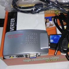 Jual Converter Vga To Rca Vga To Tv Vga To S Video Converter Box Online Indonesia
