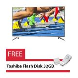 Harga Coocaa 43 Smart Led Tv 43E700A Free 1X Toshiba Flashdisk 32Gb Coocaa Asli
