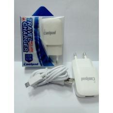 Coolpad Charger TC Adaptor Coolpad 2 Ampere Bisa Untuk Samsung, Oppo, Xiomi Redmi, Asus Advan Vivo
