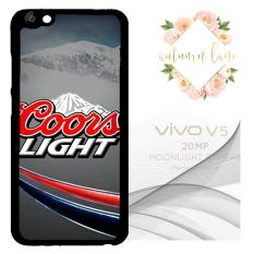 Coors Light Beer Logo GN0552 Custom Casing Vivo V5 Hard Case