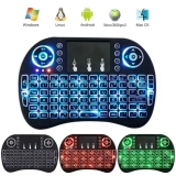 Toko Coowalk 2 4G Mini Portabel Keyboard Nirkabel With Touchpad Mouse Multi Media Genggam Android Keyboard For Windows Android Google Smart Tv Linux Mac Os Biru Cahaya Internasional Dekat Sini