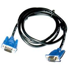Copartner Kabel Vga Untuk Monitor Dan Proyektor Hitam Asli