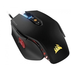 CORSAIR M65 PRO RGB-FPS Gaming Mouse-12,000 DPI Sensor Optik-Adjustable DPI Tombol Sniper-Merdu Weights-Hitam-Intl
