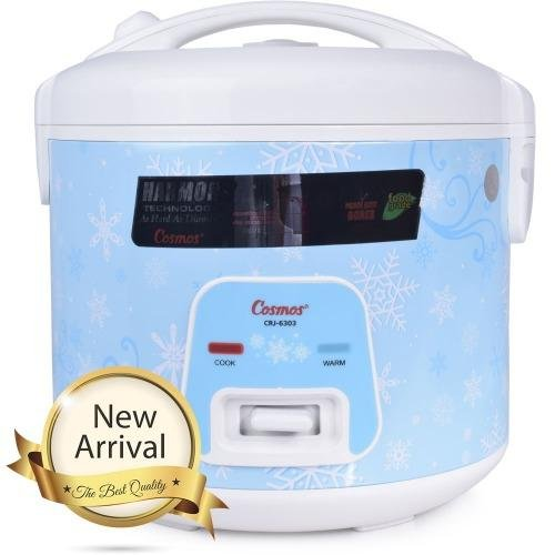 Cosmos Rice Cooker Magic Com,Magic Jar ( Harmond Technology ) CRJ6303 1,8L - Biru