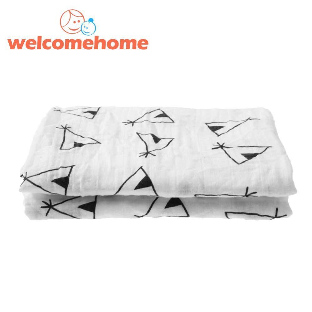 Review Cotton Baby Swaddling Handuk Untuk Bayi Yang Baru Lahir Blankets Gauze Handuk Internasional