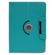 Cover Case untuk Alcatel Onetouch Evo 8Hd - Dapat Diputar 360 Derajat - Biru