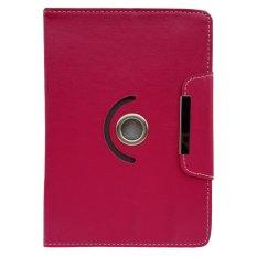 Cover Case untuk Alcatel Onetouch Evo 8Hd - Dapat Diputar 360 Derajat - Merah