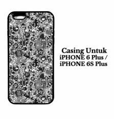 Cover IPHONE 6S PLUS art pop art concept Casing Hardcase