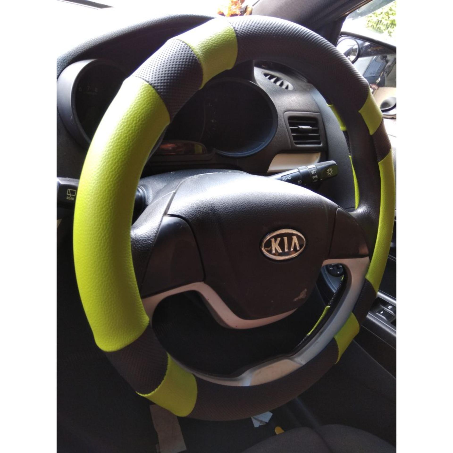Beli Cover Stir Sarung Setir Mobil Ultimate Dash Hijau Size S Cicilan