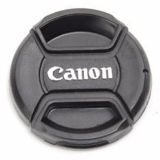 Cover Tutup Lensa Kamera Canon Lens Cap Penutup 72mm s6186 - Black