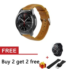Review Crazy Horse Kulit Asli Tali Band Untuk Gear S3 Klasik Sm R770 S3 Frontier Sm R760 Sm R765 Smart Watch Intl Oem Di Tiongkok