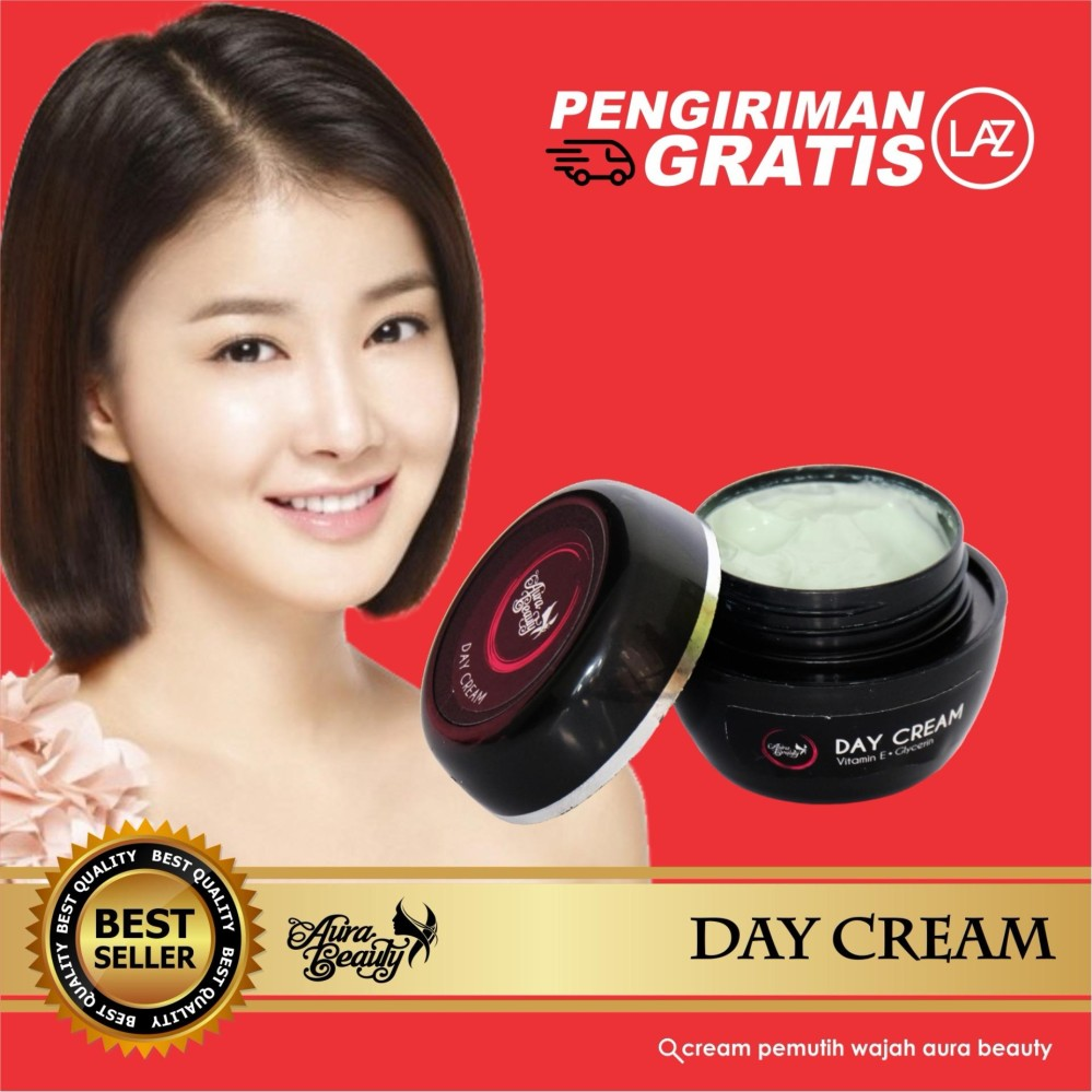 Review Cream Siang Cream Wajah Aman Bpom Aura Beauty