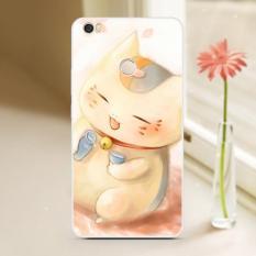 Kreatif Kartun Lukisan Lembut Silicone Ponsel Case untuk Xiaomi Mi Max 6.44 Inch/Anti Jatuh
