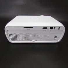 Kreatif Mini LED Proyektor Video Proyektor Rumah dengan Dukungan HDMI 1080 P untuk Home Cinema Theater TV Game Laptop Bisnis Sd Smartphone-putih-Intl