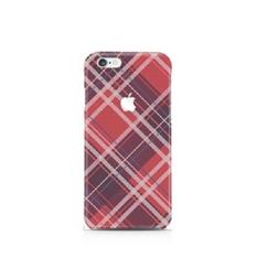 [CREOCASE] IPhone 6/6 S SMARTPHONE HARD CASE SERI PERIKSA DESAIN CASE POLIKARBONAT KOREA ORIGINAL (RED_TARTAN) -Intl