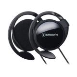 Ulasan Lengkap Cresyn C150H Hitam Earset Headphone Klip Ergonomis Desain Dengan Mic