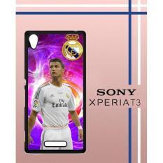 Cristiano Ronaldo Render Q0054 Casing Custom Hardcase Hp Sony Xperia T3 Case Cover G99V