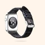 Toko Strap Kulit Buaya Classic Buckle Adapter Watch Band Untuk Apple Watch 38Mm Intl Oem Di Tiongkok