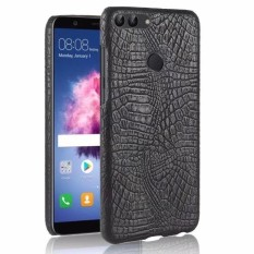 Crocodile pattern leather back cover Hard cover phone case For Huawei P smart