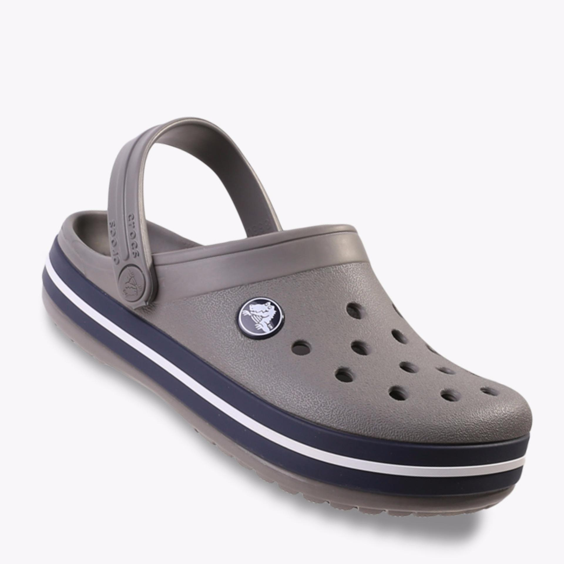 Crocs Classic Clog Kid's Sandals - Abu-abu