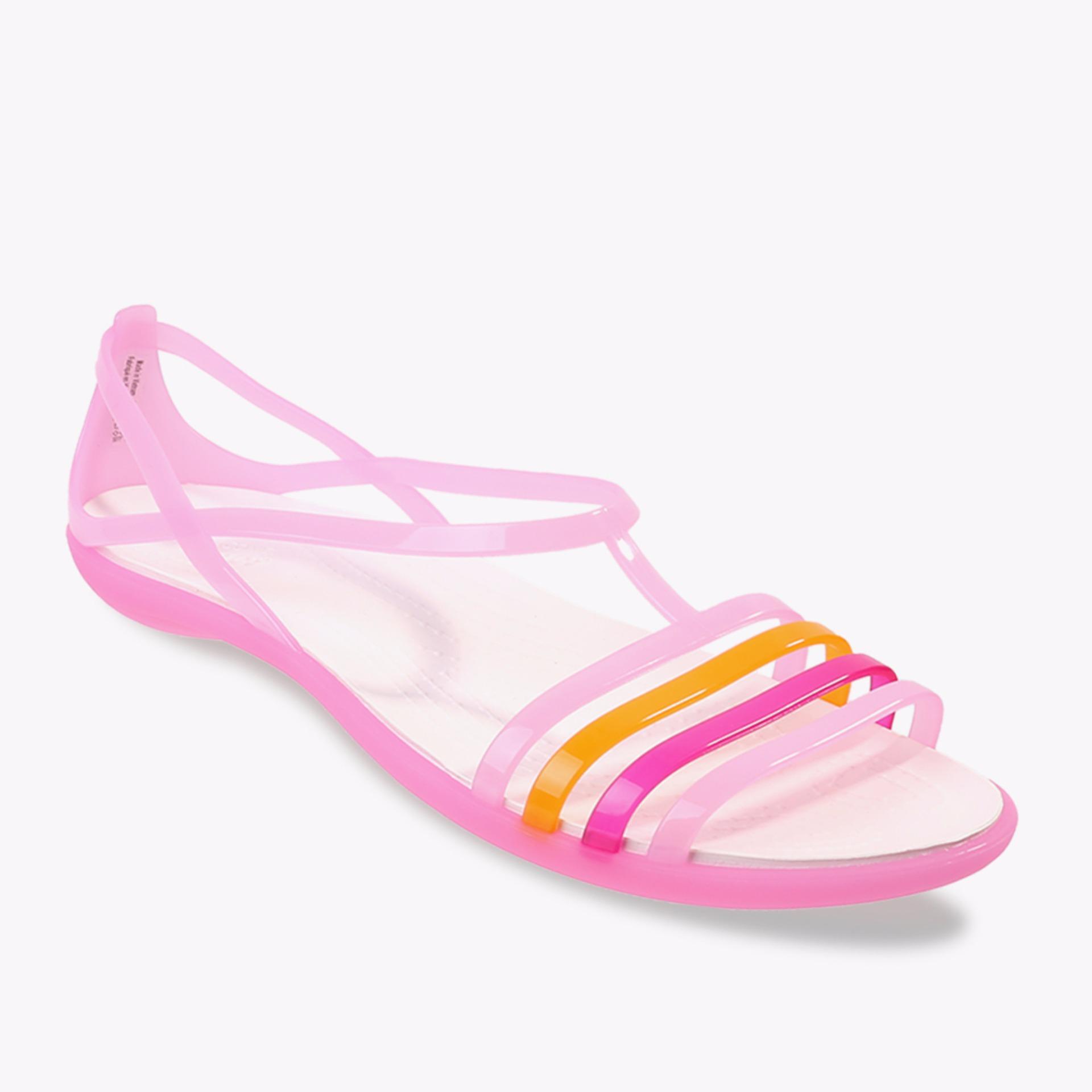 Toko Crocs Isabella Women S Sandals Pink Online Terpercaya