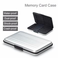 Beli Crony 16 Slot Aluminium Tahan Air Uhs I Sd Micro Sd Sdhc Sdxc Securedigital Dompet Kartu Memori Carrying Case Intl Unbranded Dengan Harga Terjangkau