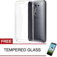 Harga Crystal Case For Asus Zenfone 2 Laser Ze601Kl 6 Clear Hardcase Gratis Tempered Glass Baru Murah